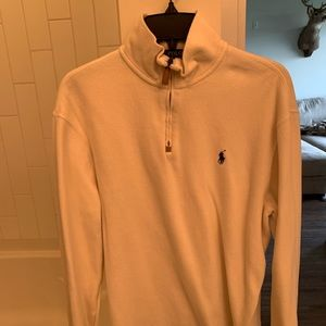 Polo Ralph Lauren Cream Quarterzip